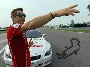 A tour of the Indianapolis Motor Speedway with Nicky Hayden