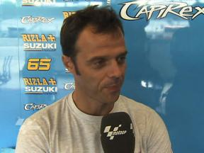 Capirossi battles back to seventh