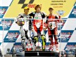 Aoyama, Simoncelli and Bautista on the podium at Red Bull Indianapolis Grand Prix
