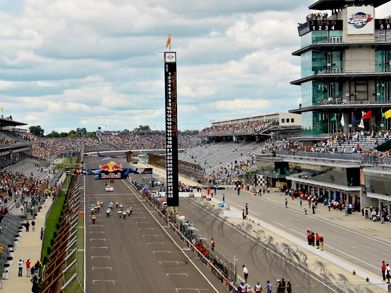 MotoGP Race starts at Red Bull Indianapolis Grand Prix