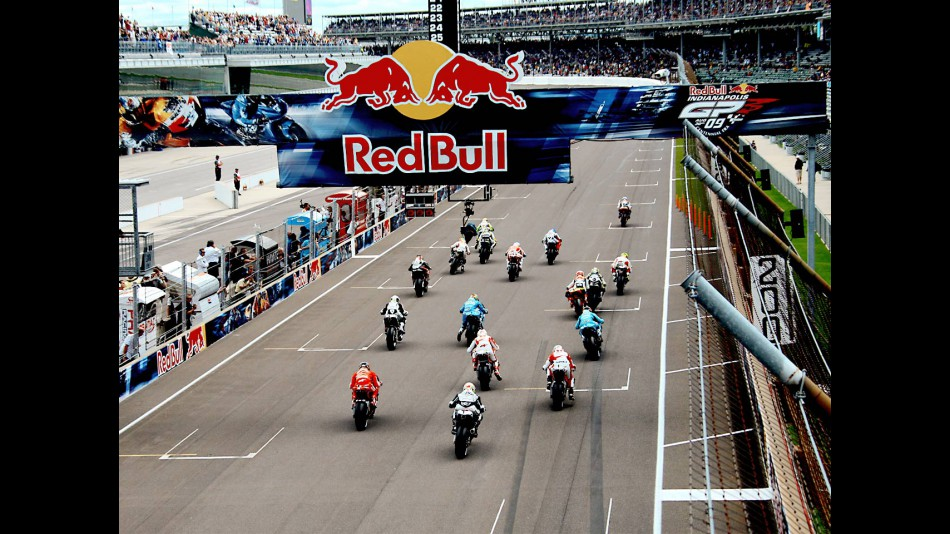 MotoGP action at Indianapolis