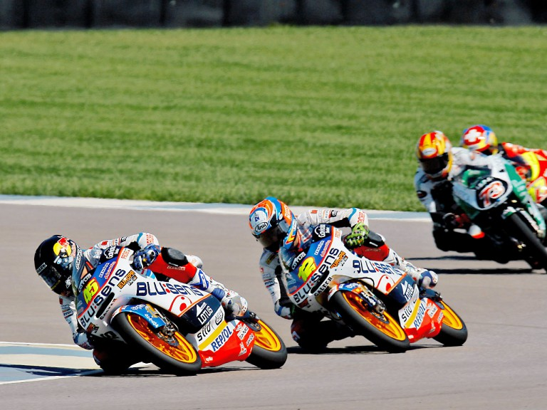 Redding and Rabat on track at Indianapolis