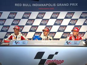 Indianapolis Post-Race press conference
