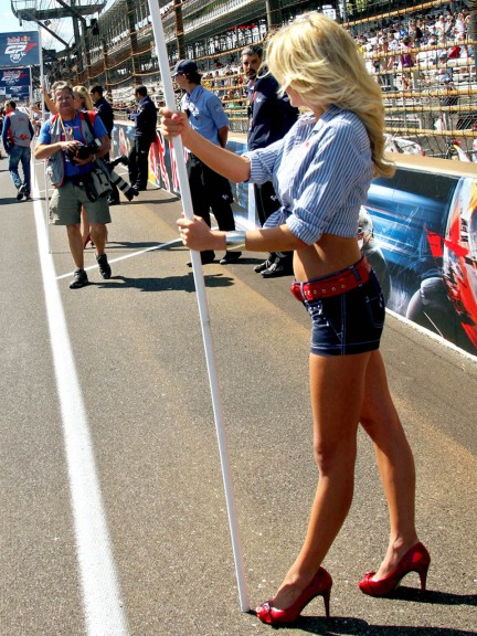 Paddock Girls at Red Bull Indianapolis Gran Prix