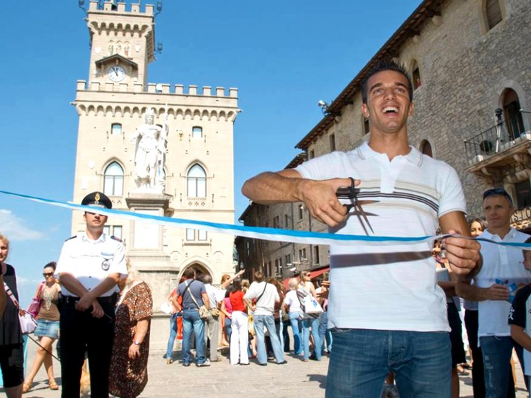 GP Cinzano di San Marino e della Riviera di Rimini inauguration