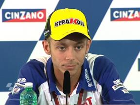 Rossi expects tough fight with Lorenzo and Pedrosa
