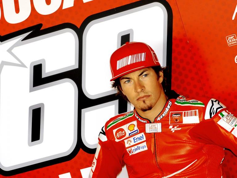 Ducati rider Nicky Hayden