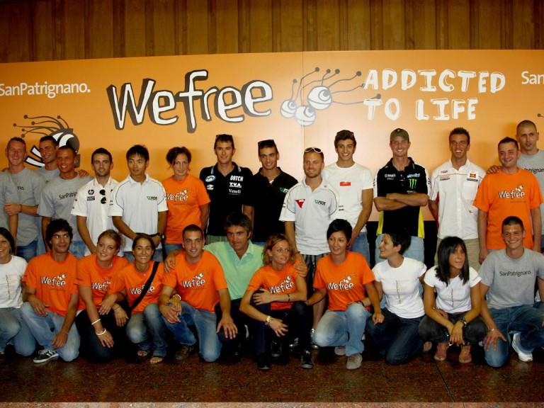 MotoGP riders visit San Patrignano