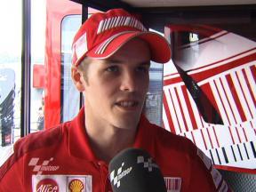 Kallio seventh in first practice