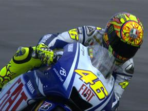 Misano 2009 - MotoGP FP1 Highlights