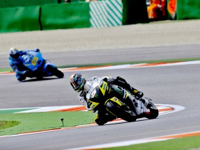 Colin Edwards in action in Misano