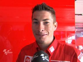 Hayden positive about FP1 findings
