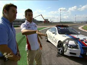 De Angelis gives guided tour of Misano