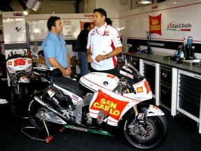 Fabrizio Cecchini presents De Angelis bike