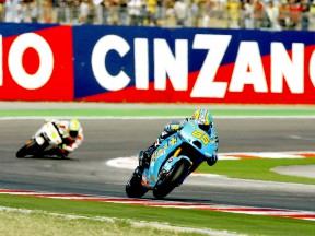 Loris Capirossi in action in Misano