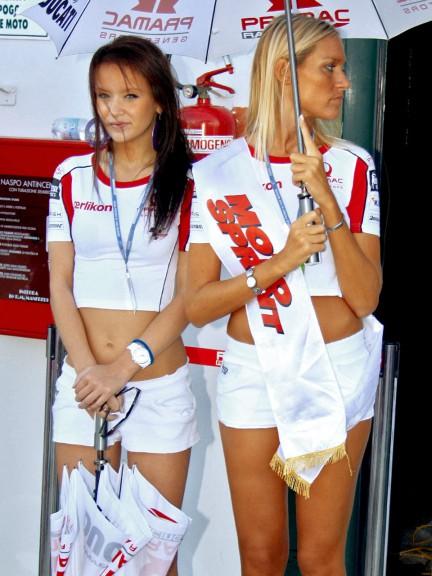 Paddock Girls at GP Cinzano Di San Marino e della Riviera di Rimini