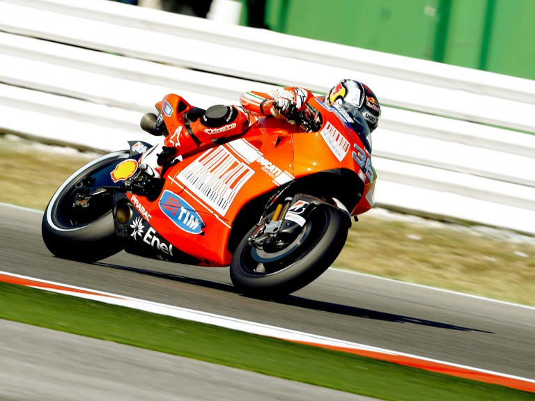 Mika Kallio in action in Misano