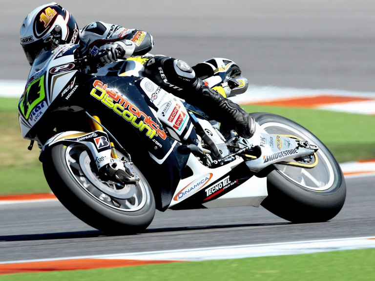 Randy de Puniet in action in Misano