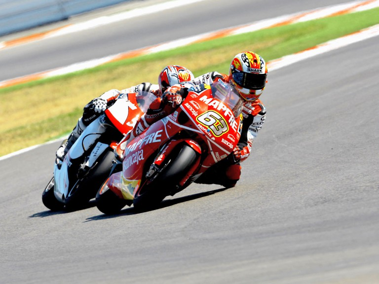 Mike di Meglio in action in Misano