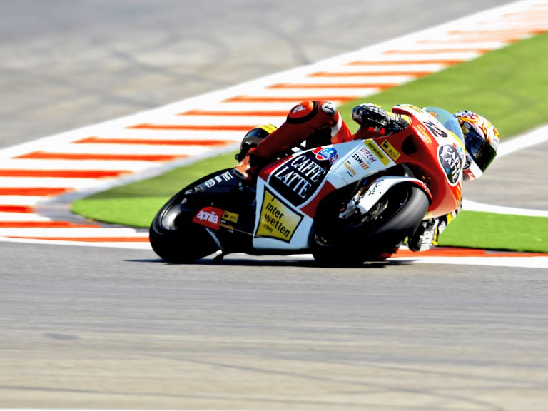 Thomas Luthi in action in Misano