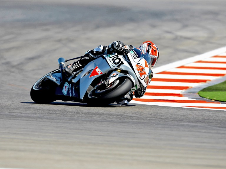 Gabor Talmacsi in action in Misano