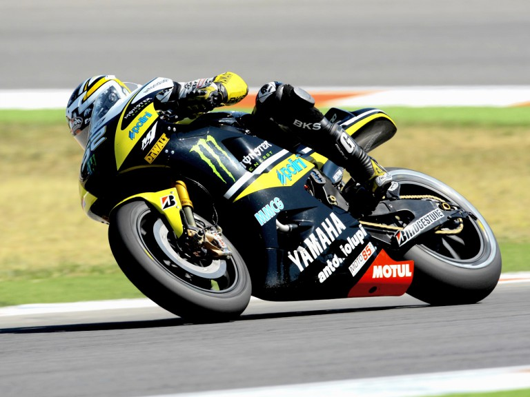 James Toseland in action in Misano