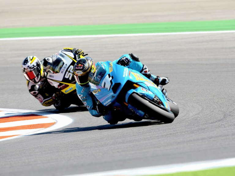 Chris Vermeulen in action in Misano