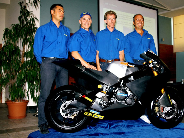Suter Racing Technology present Moto2 project