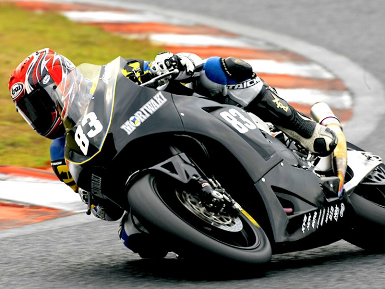 Shogo Moriwaki Moto2 debuts at the All Japan Road Race Championship