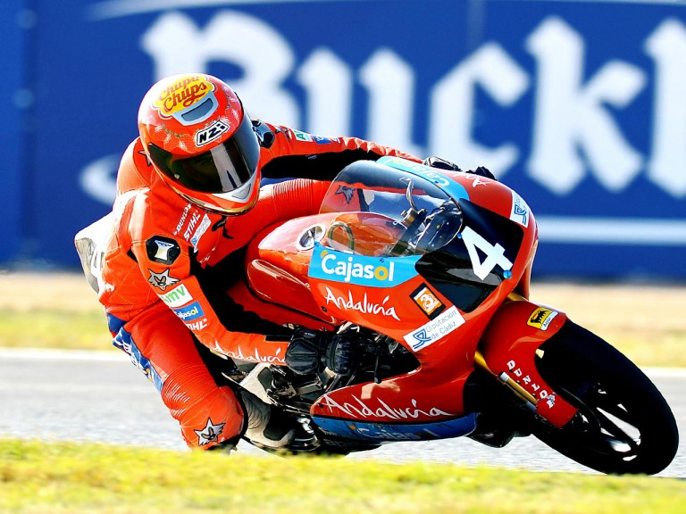Alberto Moncayo in action in the CEV Buckler at Albacete