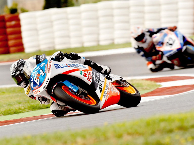 Shuhei Aoyama in action in the CEV Buckler at Albacete