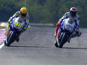 Rossi vs Lorenzo: The 2009 title fight so far