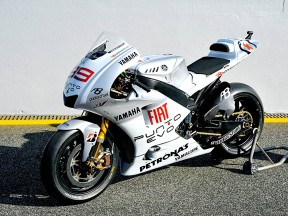 Fiat Yamaha unveil special Estoril livery