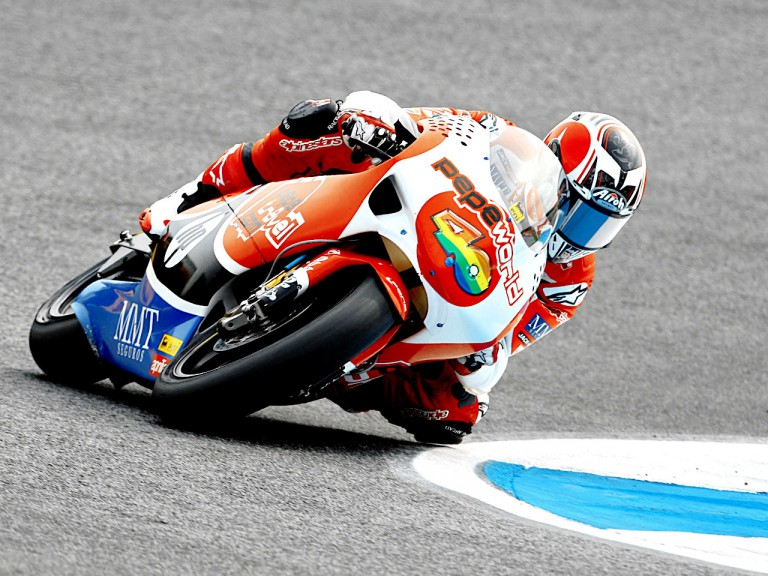 Héctor Barberá in action in Estoril