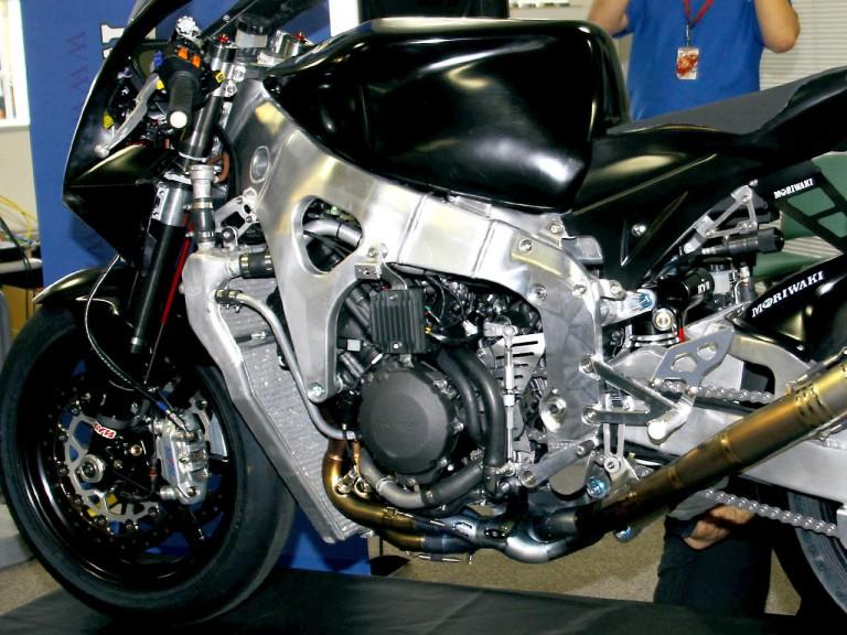 Moriwaki Moto2 bike Detaill