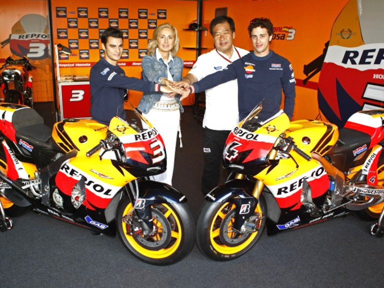Repsol and Honda confirm the renewal of their partnership