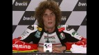 Marco Simoncelli interview after QP in Estoril