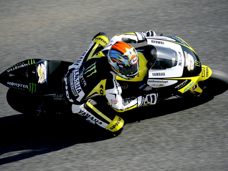 Colin Edwards in action in Estoril