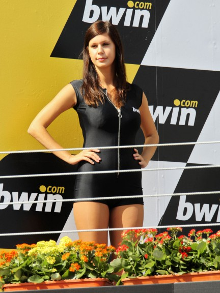 Paddock Girls at the bwin.com Grande Premio de Portugal