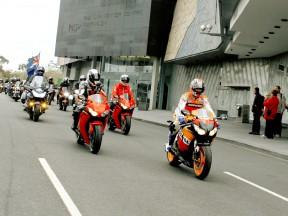 MotoGP preevent in Melbourne