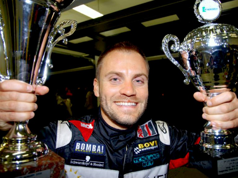 Gabor Talmacsi enjoys 12-hour Hungarian car race