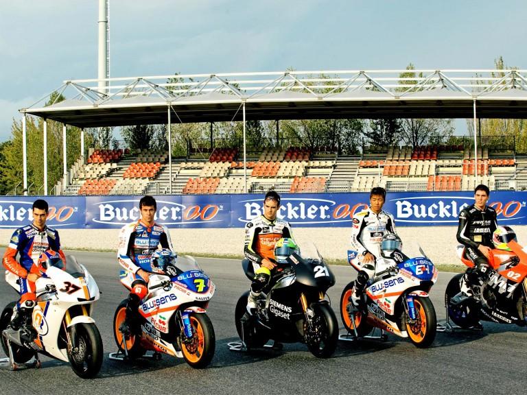 Moto2 Riders and bikes