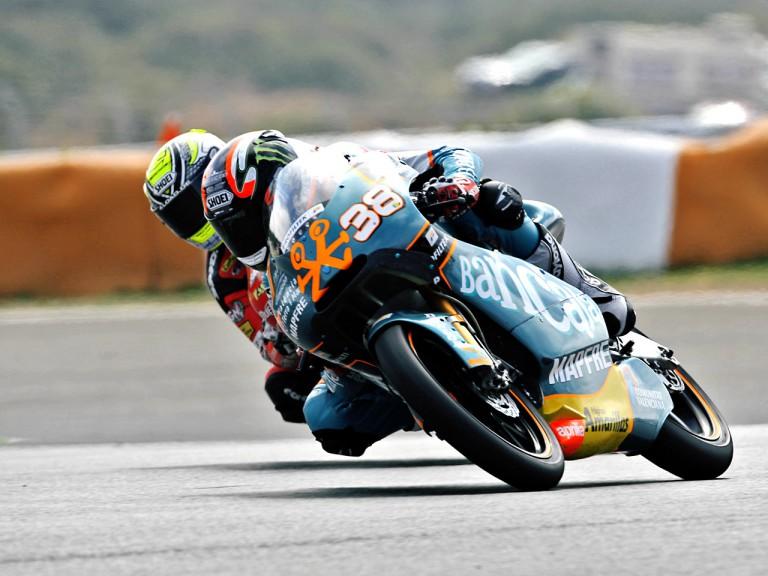 Bradley Smith on track