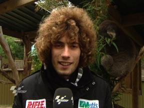 Simoncelli on Phillip Island