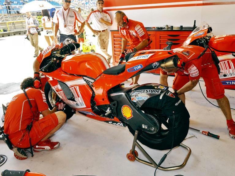 Ducati Marlboro garage