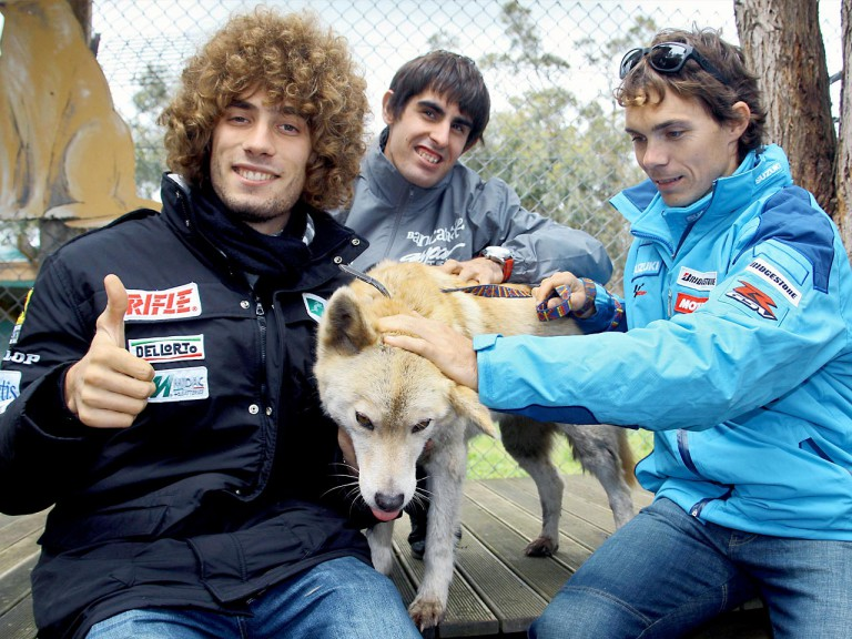 Simoncelli, Simón and Vermeulen at Maru Wildlife Park