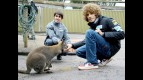 Simoncelli and Simón at Maru Wildlife Park