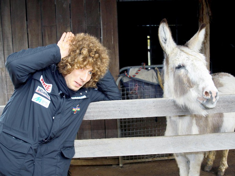 Marco Simoncelli at Maru Wildlife Park