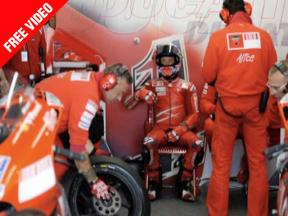 Behind the scenes with Casey Stoner