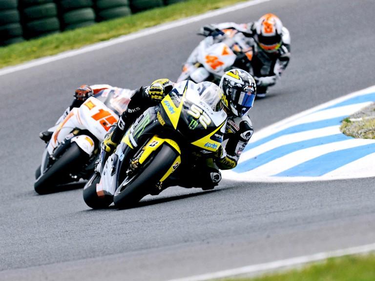 MotoGP group in action in Phillip Island